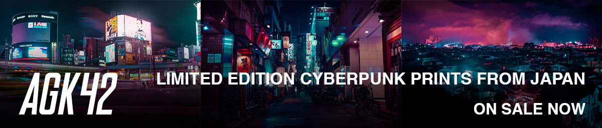AGK42 cyberpunk photography from Japan.
